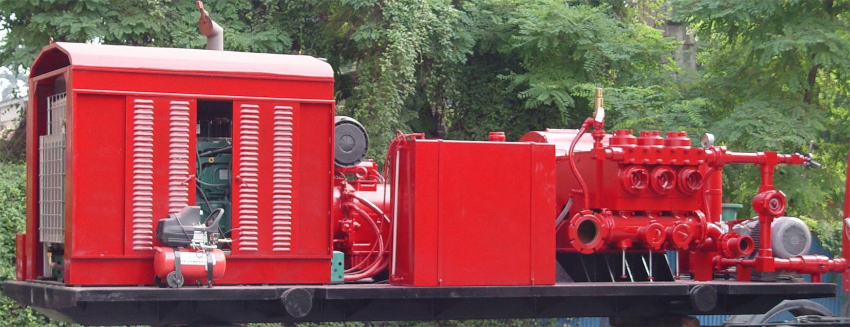3HS-280型撬装泥浆泵
