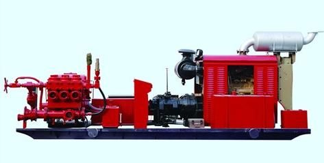 3HS-150型撬装泥浆泵